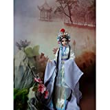 HEEGNPD 1/6 de colección Hecha a Mano Chino Tradicional Chica muñecas Opera Muñeca Muñeca Oriental La Leyenda de los Regalos de Serpiente Blanca Juguetes 32cm