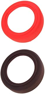 D DOLITY 2 Pieces Silicone Desktop Non-Slip Sleeve Bottom Protective Ring for Ultimate Ears UE Megaboom 3 Bluetooth Speakers