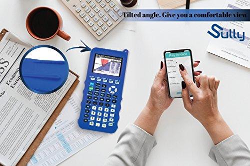 Silicone Case for Ti 84 Plus CE Calculator (Blue) - Cover for Texas Instruments Ti-84 Graphing Calculator - Silicon Skin for Ti84 Plus - Protective & Anti-Scretch Cases - Ti 84 Accessories by Sully Photo #9