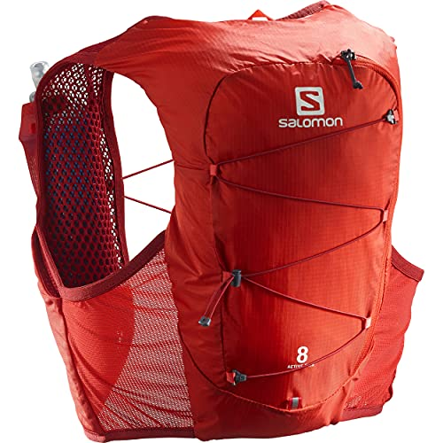 Salomon Active Skin 8 Set, Valiant Poppy/Red Dahlia, S
