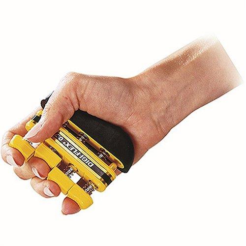 Digi-Flex Handtrainer Fingertrainer Unterarmtrainer Fingerhantel, 0,7 kg GELB
