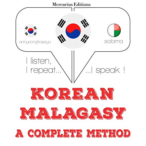 Korean – Malagasy. A complete method cover art