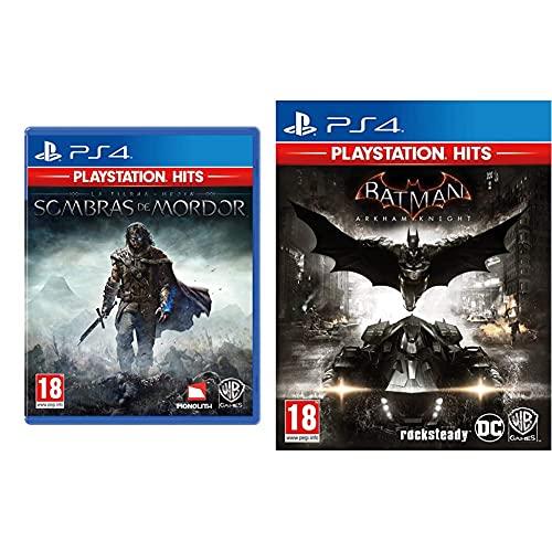 Warner Bros Interactive Spain Shadow Of Mordor Ps Hits + Playstation Batman Arkham Knight Ps Hits