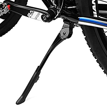 BV Adjustable Bicycle Bike Kickstand with Concealed Spring-Loaded Latch for 24-29 Inch Bicycles