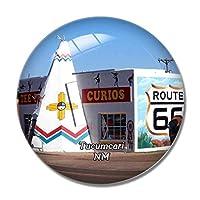 トゥーカムカリルート66ニューメキシコ米国冷蔵庫マグネットホワイトボードマグネットオフィスキッチンデコレーション