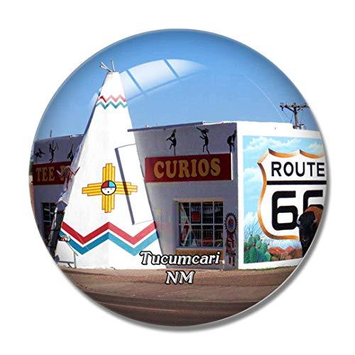 Imán para nevera 3D de la Ruta de Tucumcari 66 New México USA