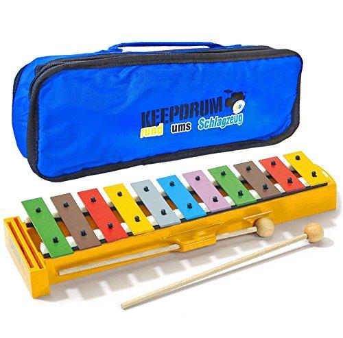 Sonor GS Xylophon Glockenspiel für Kinder + Keepdrum Tasche Bag