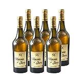 Macvin du Jura Blanc - Domaine Jean-Luc Mouillard - Vin AOC Blanc du Jura - Lot de 6x75cl - Cépage Savagnin - Sélection 2020 Guide Hachette