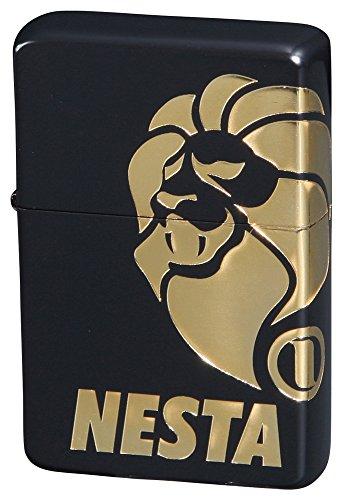 NESTA BRAND(ネスタブランド) オイルライター 2面ロゴ 金差し DXN-2LG