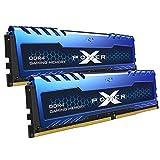 Silicon Power XPOWER Turbine Gaming DDR4 16GB (8GBx2) 3200MHz (PC4 25600) 288-pin C16 1.35V UDIMM...