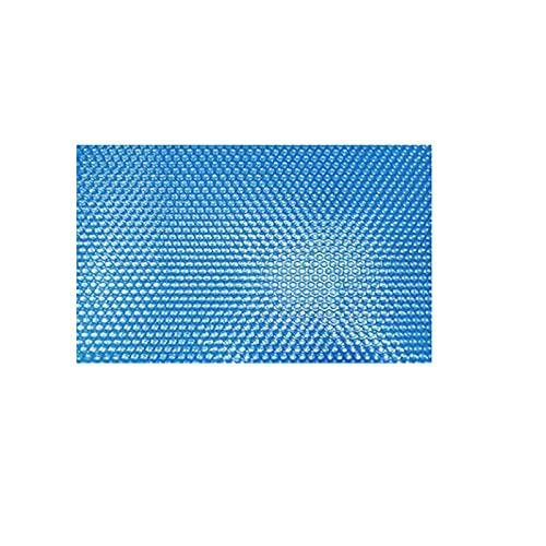 ISAKEN Pool Solarabdeckplane,Rechteckige Solarabdeckung Solarfolie Poolheizung Solarplane, Blau Pool Solarfolie Abdeckung Poolabdeckung Wärmeplane Abdeckplane Solarplane Solarabdeckung Für Frame Pool