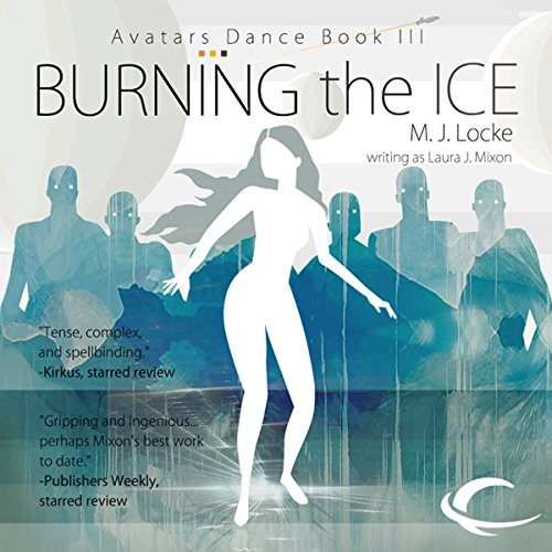 Burning the Ice audiobook cover art