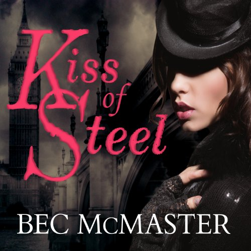 Kiss of Steel audiobook cover art