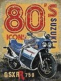 RKO Gsxr 750 Suzuki de 1980 Icône Moto Bike-Parent - 9 x 6.5 cm (Magnet)