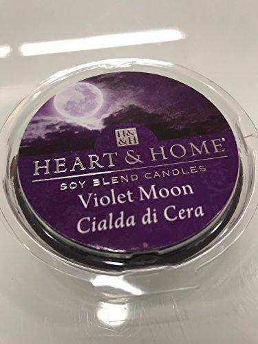 Heart And Home à Dosette en cire de soja, Violet Moon