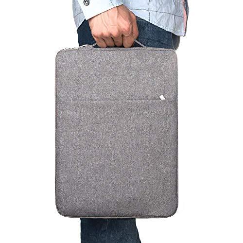 qq666 Hülle für iPad Pro 12.9 Modell A2014 A1895 A1876 A1671 A1584 A1652 Hülle für das iPad Hülle 12.9 2017/2015/2018/2020-Light_Gray_A