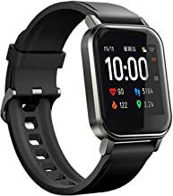 Haylou SmartWatch 2, 1.4 inches Full Touch Screen, Bluetooth5.0, Heart Rate/Sleep Monitor, Pedometer, SMS Notification, Incoming Call Reminder, Display When Raising Your Wrist, IP68 Waterproof