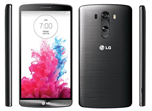 LG G3 VS985 32GB Verizon Wireless CDMA 4G LTE Smartphone w/ 13MP Camera - Metallic Black (Renewed)