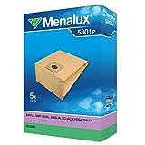 Menalux 5801 P - Bolsas de papel para aspiradoras Zelmer, Alaska y Hanseatic (5 unidades)