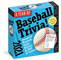 Year of Baseball Trivia! 2021 Calendar