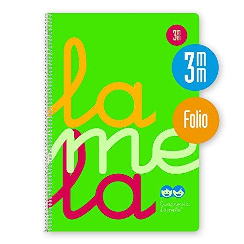 Lamela 7FTP003V - Cuaderno, 80 hojas