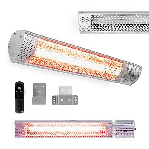 VonHaus Wall Mounted Infrared Patio Heater