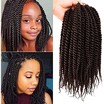 Amazon Com Micro Crochet Braids Children Crochet Twist Synthetic Hair Extension 10 Inch Senegalese Mambo Twist 1 Pack 4 Beauty