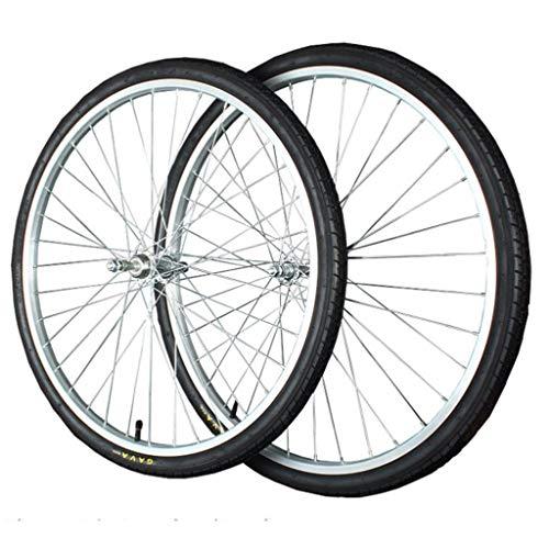 M-YN Bicycle Wheel Set 26 x 1.75/1.95 36H Single Speed Alloy Mountain Disc Double Wall