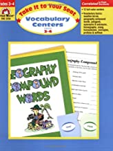 Take It to Your Seat Vocabulary Centers, Grades 3-4