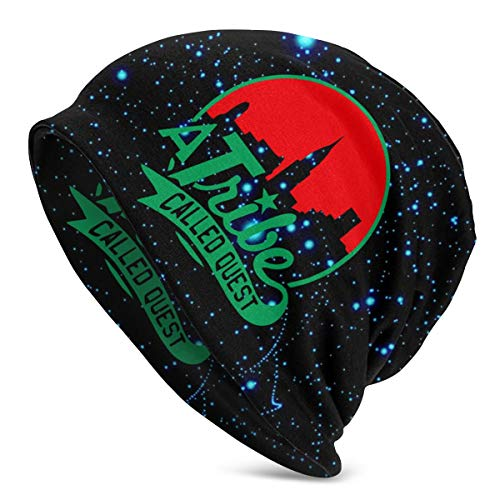 A Tribe Called Quest Beanie Hat Breathable Perfect Stretchy Soft Spring Autumn & Winter Caps 3D Graphic Print Kntted Hat Black
