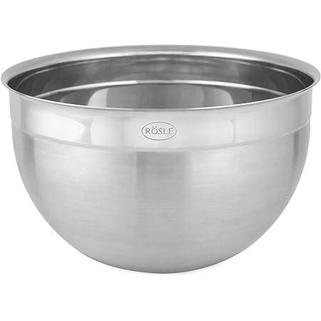 18 cms Diameter Stainless Steel Deep Mixing Salad Bowl
