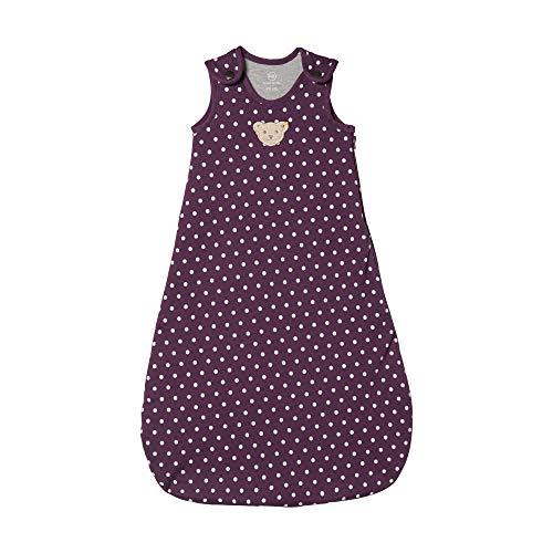 Steiff Baby - Mädchen Schlafsack , Violett (HORTENSIA 7021) , 74/80 (Herstellergröße:70)