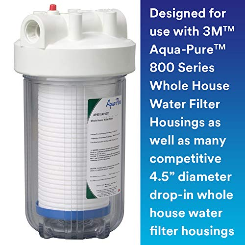 3M Aqua-Pure Whole House Replacement Water Filter AP810, For Aqua-Pure AP801, AP801-C, AP801T and AP801B Water Filtration Systems