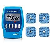 Compex Fit 1.0 Electroestimulador, Unisex, Azul + 6260760...