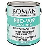 Roman 010201 PRO-909 Vinyl Prep Acrylic Wallpaper Primer, 1 gal