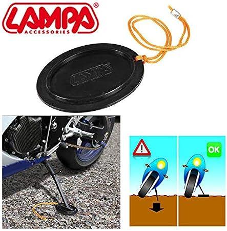 90033 Base Placa extensión Apoyo Caballete Lateral Brixton Soporte Moto Scooter