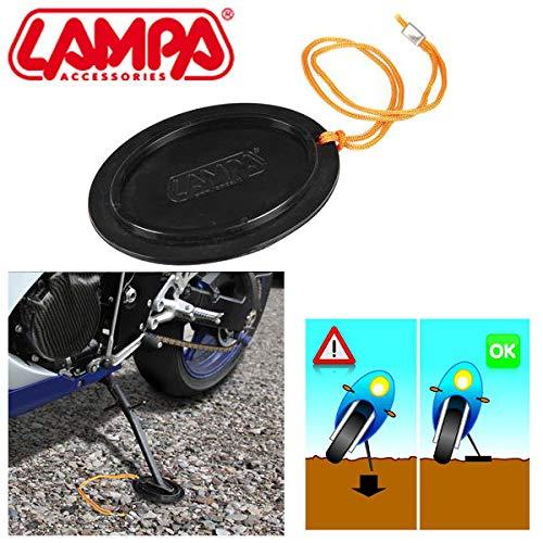 90033 Base Placa extensión Apoyo Caballete Lateral Vectrix Soporte Moto Scooter