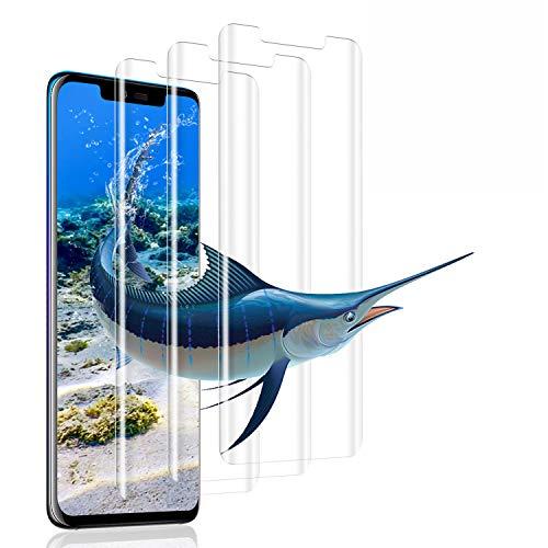 Ylife [3 Stück Panzerglas Schutzfolie Kompatibel mit Huawei Mate 20 Pro, 9H Härte Panzerglasfolie, Anti-Bläschen Anti-Fingerabdruck Glas, Displayschutzfolie Kompatibel mit Huawei Mate 20 Pro