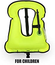children's inflatable life vest