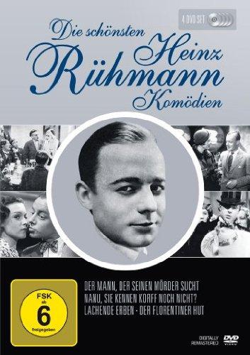 Heinz Rühmann - Die schönsten Heinz Rühmann Komödien [4 DVDs]