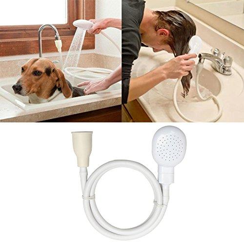uxradg Spüle Bad Armatur Dusche Kopf Schlauch Spray Abläufe Sieb Friseur Supplies Pet Bad Werkzeug