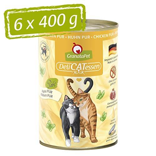 GranataPet Delicatessen Huhn PUR 6X 400g, 2.4 kg