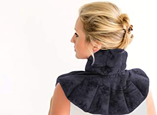 Zen Therapy - Microwavable Neck Wrap for Therapy | Hot & Cold Neck Shoulder Pad | Soothes Muscle & Arthritis Pain | Neck H...