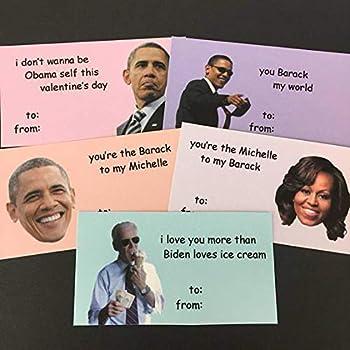 Obama Mini Valentine s Day Card