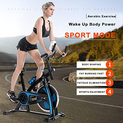 Best Buy! Exercise Bike Indoor Cycling Bike,Stationary Fitness Cardio Workout Home Indoor Bike Train...