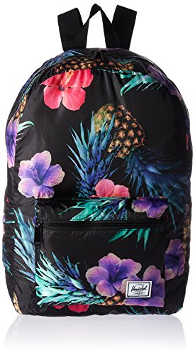 Herschel Supply Co. Packable Daypack, Black Pineapple, One Size