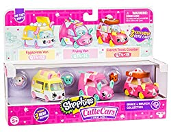 professional A collection of three Shopkins Cutie Cars collections, a die-cast collector car with removable mini brakes …
