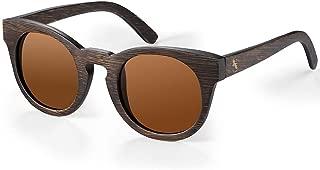 Cateye Bamboo Wooden Polarized Sunglasses for Men - Women Cat Eye Wood Sunglasses in Original Box