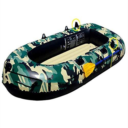 ACEWD Kayaks Hinchables, Kayacs Hinchables Individual, Canoa Hinchable, Barca Hinchable (Disponible En Tres Tamaños),M