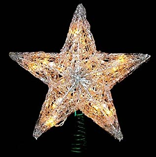 Best double sided starburst tree topper Reviews